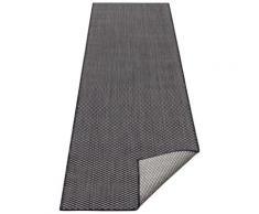 Läufer, Rhodos, my home, rechteckig, Höhe 3 mm, maschinell gewebt schwarz Küchenläufer Läufer Bettumrandungen Teppiche