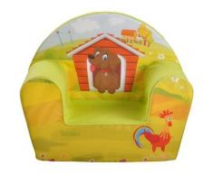 Knorrtoys Sessel Dog on a farm bunt Kinder Kindersessel Kindersofas Kindermöbel
