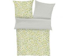 s.Oliver Wendebettwäsche Mako-Satin 5726, mit Animalprint grün Bettwäsche nach Größe Bettwäsche, Bettlaken und Betttücher