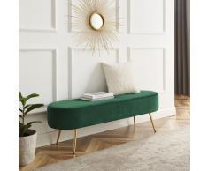 Leonique Bettbank Zirkon, Polsterbank in 3 Farben und Breiten erhältlich, auch als Garderobenbank geeignet grün Bettbänke Sitzbänke Stühle