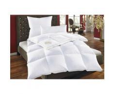OBB Daunenbettdecke + Federkissen Emilia, (Spar-Set), Wohlfühlkomfort mit den Vorzügen der Natur weiß Allergiker Bettdecke Bettdecken Bettdecken, Kopfkissen Unterbetten