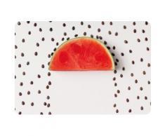 queence Platzset PS0143 grau Platzsets Tischwäsche Tischdecken
