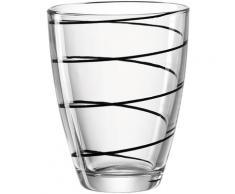 montana-Glas Glas jolly (6-tlg.) schwarz Wassergläser Saftgläser Gläser Glaswaren Haushaltswaren Trinkgefäße