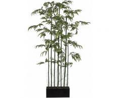 Kunstbambus Bambus Raumteiler, grün, grün