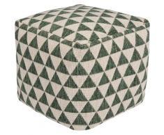bougari Sitzkissen Tahiti, In- und Outdoor geeignet, Pouf, waschbar grün Stuhlkissen Kissen Kopfkissen