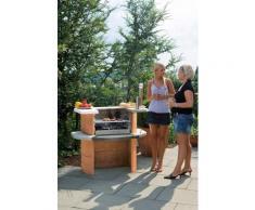 Buschbeck Holzkohlegrill Grillbar Rica, BxTxH: 110x65x93 cm rot Grills Gartenparty Aktionen Themen