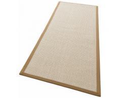 Läufer, Issa, my home, rechteckig, Höhe 7 mm, maschinell gewebt braun Kurzflor-Läufer Läufer Bettumrandungen Teppiche