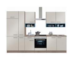 OPTIFIT Küchenzeile ohne E-Geräte,»Korfu« Breite 300 cm, natur, sand glänzend