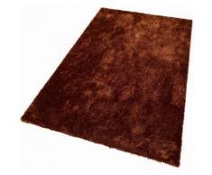 Hochflor-Teppich, Dana, Bruno Banani, rechteckig, Höhe 30 mm, maschinell gewebt braun Moderne Teppiche Unisex