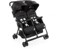 Chicco Zwillingsbuggy OHlalà Twin, Black Night schwarz Kinder Zwillingsbuggys Buggys Kinderwagen Buggies