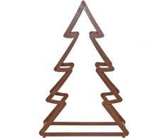 Dekobaum Weihnachtsbaum, aus Metall, mit rostiger Oberfläche, Höhe ca. 95 cm braun Deko, Figuren Skulpturen SOFORT LIEFERBARE Wohnaccessoires