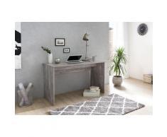 Wilmes Schreibtisch MULTI grau Schreibtische Bürotische und Büromöbel Tisch