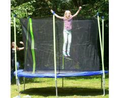 Best Sporting Gartentrampolin Sports 366, Ø 366 cm, inkl. Netz, faltbar blau Kinder Trampoline Fitnessgeräte