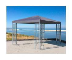Quick Star Pavillon Rank, BxT: 300x300 cm grau Pavillons Garten Balkon