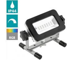 EGLO LED Flutlichtstrahler PIERA, LED-Board, Warmweiß schwarz LED-Lampen LED-Leuchten SOFORT LIEFERBARE Lampen Leuchten