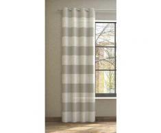 Neutex for you Vorhang SONORA, 3D Musterung im Leinen-Look beige Wohnzimmergardinen Gardinen nach Räumen Vorhänge