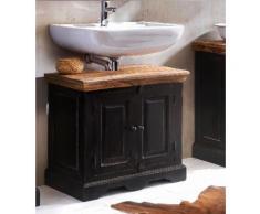 SIT Waschbeckenunterschrank Corsica schwarz Bad-Waschbecken-Unterschränke Badmöbel Schränke