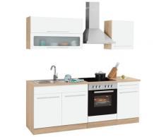 HELD MÖBEL Küchenzeile Eton, ohne E-Geräte, Breite 210 cm weiß Küchenzeilen Geräte -blöcke Küchenmöbel