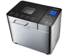 Medion Brotbackautomat MD 10241, 25 Programme, 600 W, Edelstahlgehäuse silberfarben Küchenkleingeräte SOFORT LIEFERBARE Haushaltsgeräte