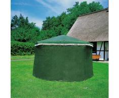 promadino Pavillon-Schutzhülle Rosenheim grün Zubehör für Pavillons Gartenmöbel Gartendeko