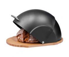 Zeller Present Brotkasten, (1 tlg.) schwarz Brotkasten Aufbewahrung Küchenhelfer Haushaltswaren