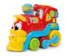 """Clementoni Spielzeug-Eisenbahn """"Baby Nino die kleine Eisenbahn"""", bunt, Unisex, bunt"""