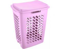 keeeper Wäschebox Fassungsvermögen 60 l 49 x 37 x 60 cm piet, lila, Neutral, lila