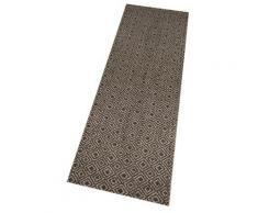 Zala Living Läufer Vila, rechteckig, 5 mm Höhe, In- und Outdoor geeignet braun Teppichläufer Bettumrandungen Teppiche