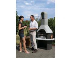 Buschbeck Grillkamin Zamora, BxTxH: 110x65x206 cm grau Grillkamine Grill Haushaltsgeräte Grills