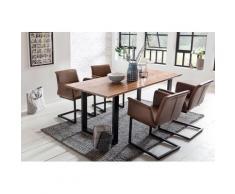 SalesFever Essgruppe (Set, 5-tlg) braun Essgruppen Tische Sitzmöbel-Sets