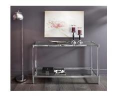 Leonique Beistelltisch Ceadda silberfarben Beistelltische Tische Tisch