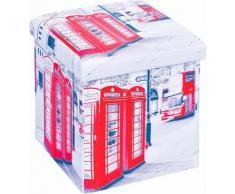 Home affaire Faltbox SETTI bunt Büroaccessoires Wohnaccessoires