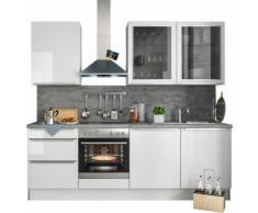 S+ by Störmer Küchenzeile Melle Premium, weiß, weiß Hochglanz