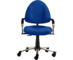Mayer Sitzmöbel Drehstuhl Kinder- und Jugenddrehstuhl myFREAKY, mitwachsend blau Drehstühle Bürostühle Stühle Sitzbänke