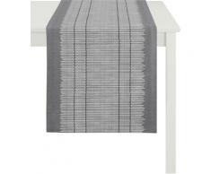 Tischläufer, 3033 Loft Bambusmatte, APELT (1-tlg.) grau Tischläufer Tischwäsche Tischdecken