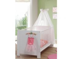 Babybett, Trend weiß Baby Gitterbetten Babybetten Babymöbel