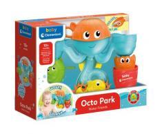 Clementoni Badespielzeug Baby - Bade-Freunde Wasserpark-Set bunt Kinder Wasserspielzeug Outdoor-Spielzeug