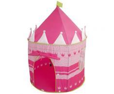 roba Spielzelt Schloß, Durchmesser 105 cm rosa Kinder Spieltunnel Outdoor-Spielzeug