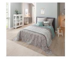 Home affaire Tagesdecke Cremona, auch als Tischdecke und Sofaüberwurf einsetzbar grün Baumwolldecken Decken