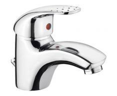 CORNAT Waschtischarmatur Mateo, Wasserhahn silberfarben Waschtischarmaturen Badarmaturen Bad Sanitär