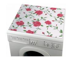 Wenko Waschmaschinen-Auflagen aus Kunststoff, rosa, Rose