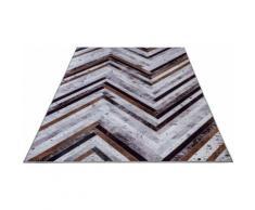 Teppich, Serena GF 051, Gino Falcone, rechteckig, Höhe 3 mm, gedruckt grau Moderne Teppiche
