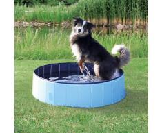 TRIXIE Planschbecken Hundepool, ØxH: 80x20 cm blau Pools Garten Balkon