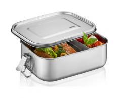 GEFU Aufbewahrungsbox ENDURE, (1 tlg.), 100 % auslaufsicher silberfarben Körbe Boxen Regal- Ordnungssysteme Küche Ordnung