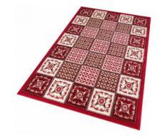 Teppich Smila Home affaire rechteckig Höhe 8 mm maschinell gewebt, rot, Neutral, rot