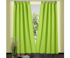 Weckbrodt Vorhang Sento grün Wohnzimmergardinen Gardinen nach Räumen Vorhänge