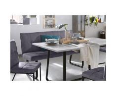 Homexperts Polsterbank, Breite 140 oder 160 cm grau Polsterbänke Sitzbänke Stühle Polsterbank