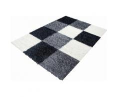 Ayyildiz Hochflor-Teppich Life Shaggy 1501, rechteckig, 30 mm Höhe, Wohnzimmer schwarz Teppiche