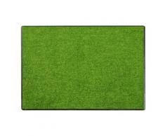 SALONLOEWE Fußmatte waschbar, grün, Neutral, kiwi