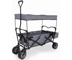 "Pinolino Bollerwagen ""Paxi"", grau, grau-schwarz"